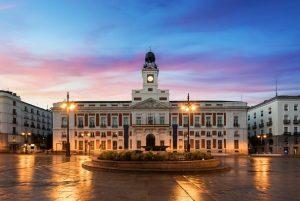 Principales plazas de Madrid puerta del sol