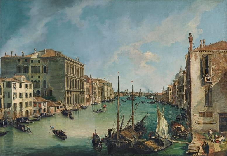 museos mas importantes de madrid Canaletto El Gran Canal desde San Vío, Venecia