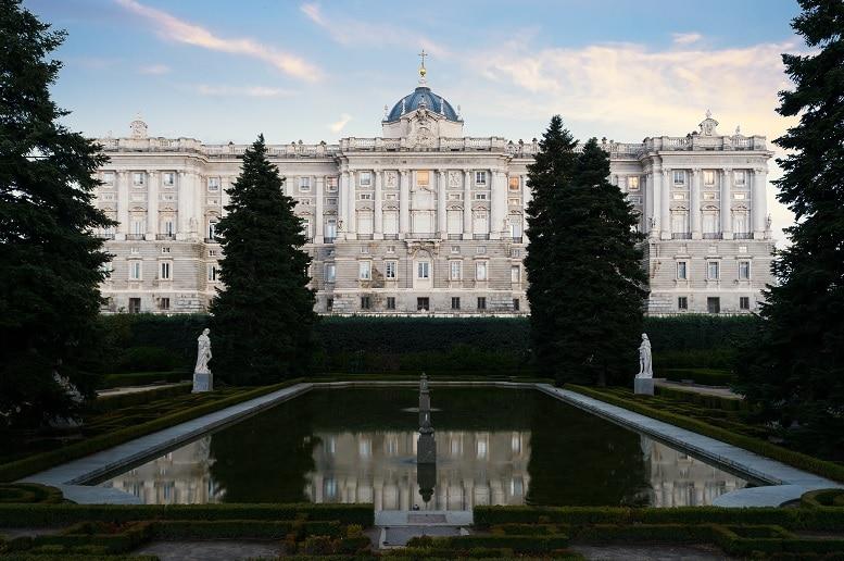 Jardines de Sabatini parques de Madrid
