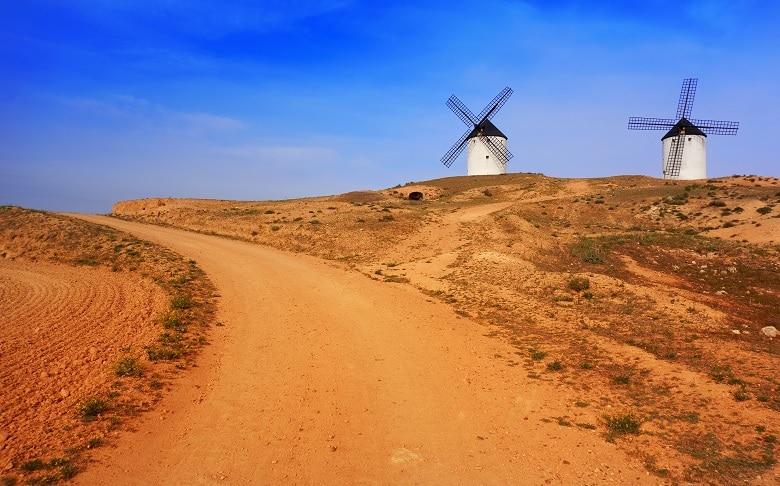 qué ver en la provincia de Toledo molinos de viento de tembleque