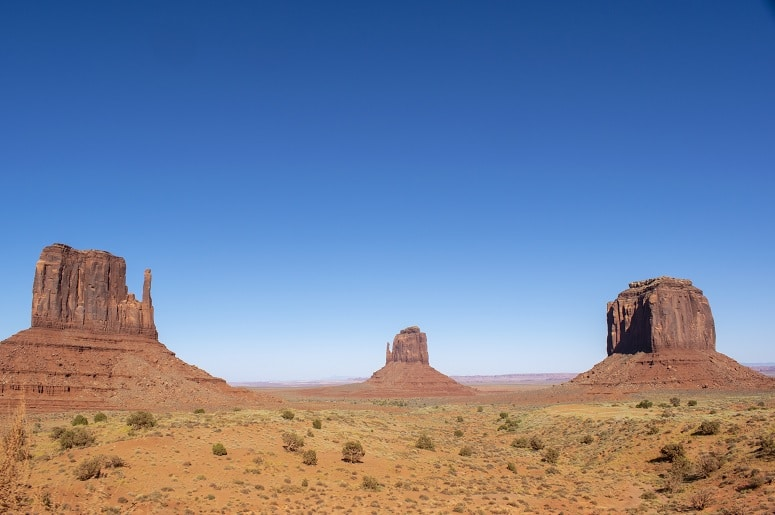 viaje por la costa oeste de estados unidos monument valley