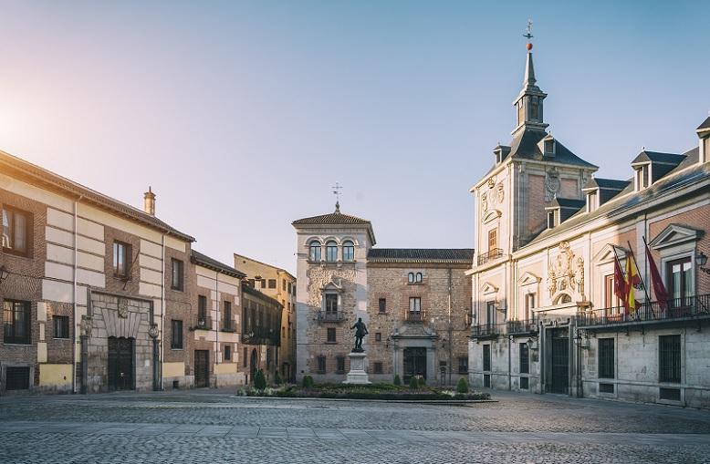 Principales plazas de Madrid plaza de la villa
