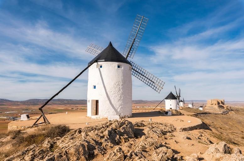 que ver en la provincia de toledo consuegra molinos de viento
