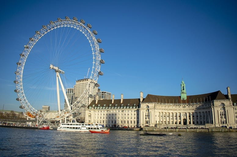que ver en londres london eye