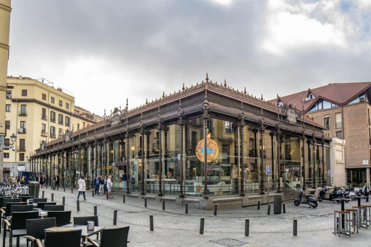 mercados de madrid mercado de san miguel madrid